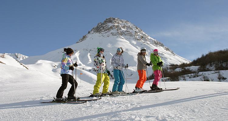 Ski à Albiez