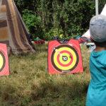 Accueil de loisirs 3CMA activité tir à l'arc