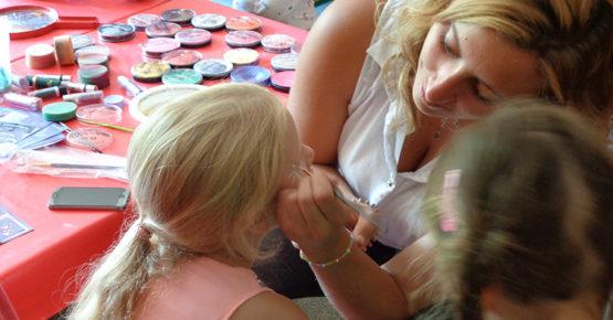 Ateliers maquillage au centre de loisirs