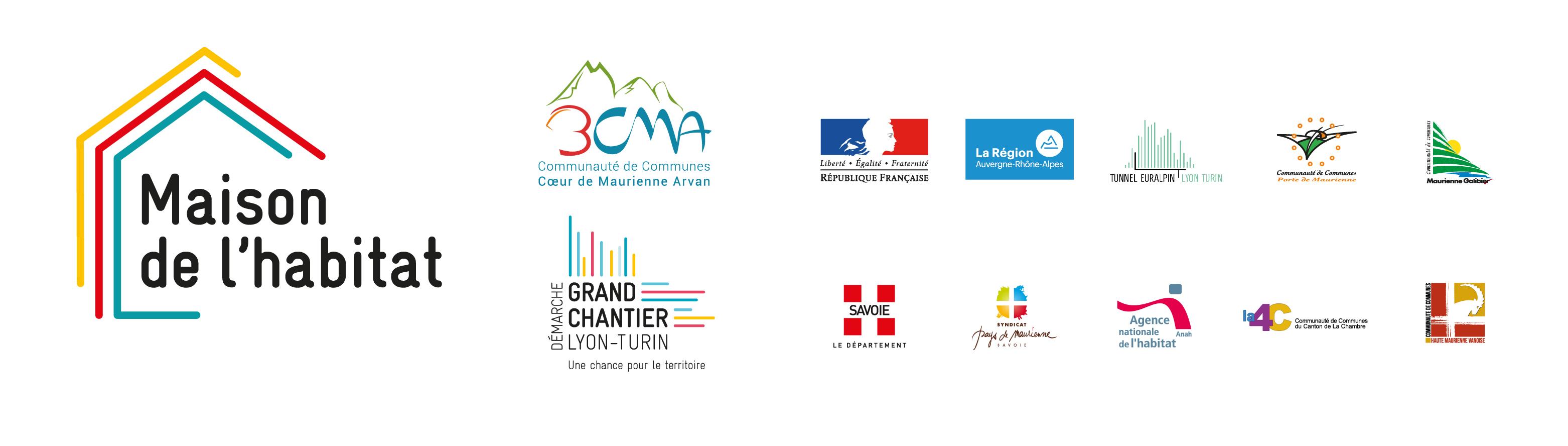 Logos partenaires Maison de l'Habitat