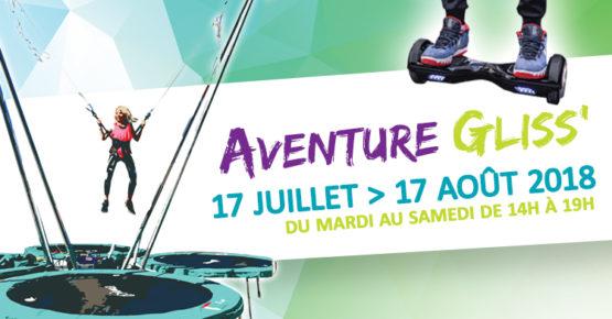 Visuel Aventure Gliss 2018 Saint-Jean-de-Maurienne