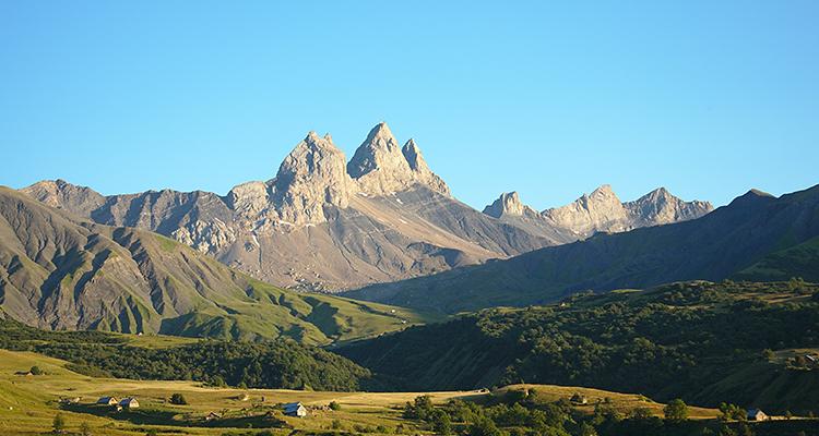 Les aiguilles d'arves en Maurienne