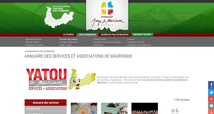 Annuaire Pays de Maurienne