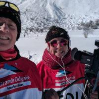 Maurienne TV à la Grande Odyssée Savoie Mont Blanc