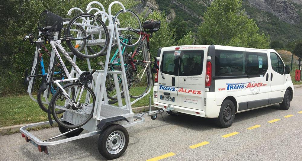 Ligne vélo Karellis Trans Alpes