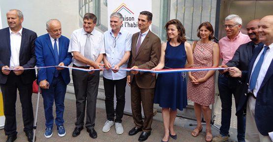 Inauguration de la Maison de l'habitat à Saint-Jean-de-Maurienne