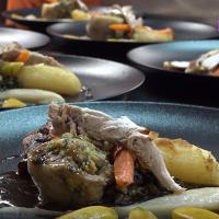 Assiette au restaurant Le Gavroche Saint-Jean-de-Maurienne