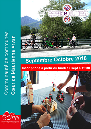 Programme des animations septembre octobre 2018