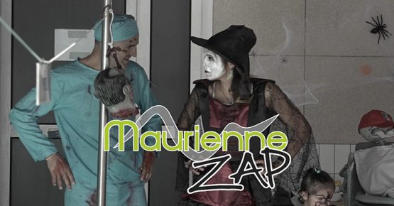 Maurienne zap au Centre nautique pour Halloween