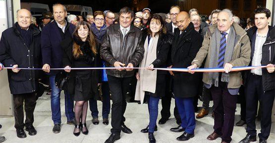 Inauguration Ateliers de Maurienne - 3CMA - Coupé de ruban