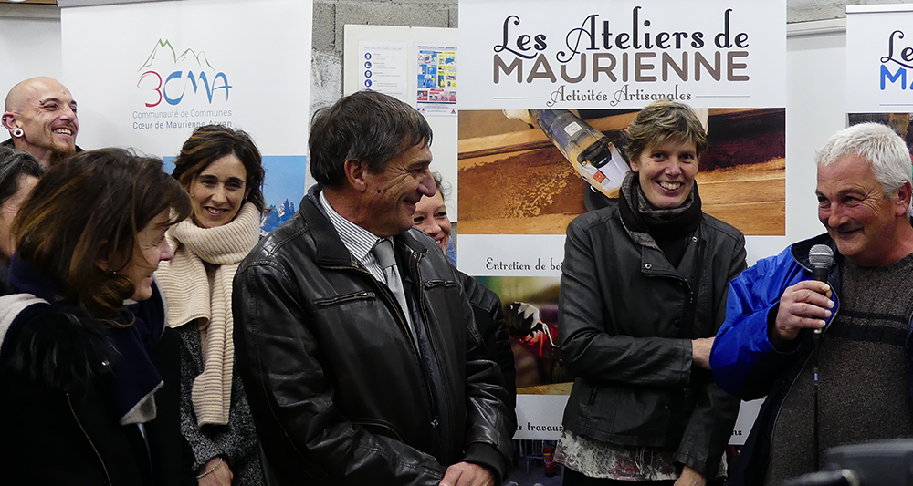 Inauguration Ateliers de Maurienne - 3CMA - Discours