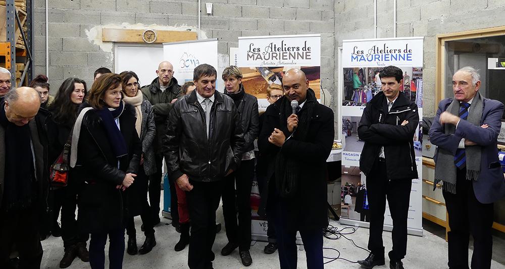 Inauguration Ateliers de Maurienne - 3CMA - Frederic Sautron