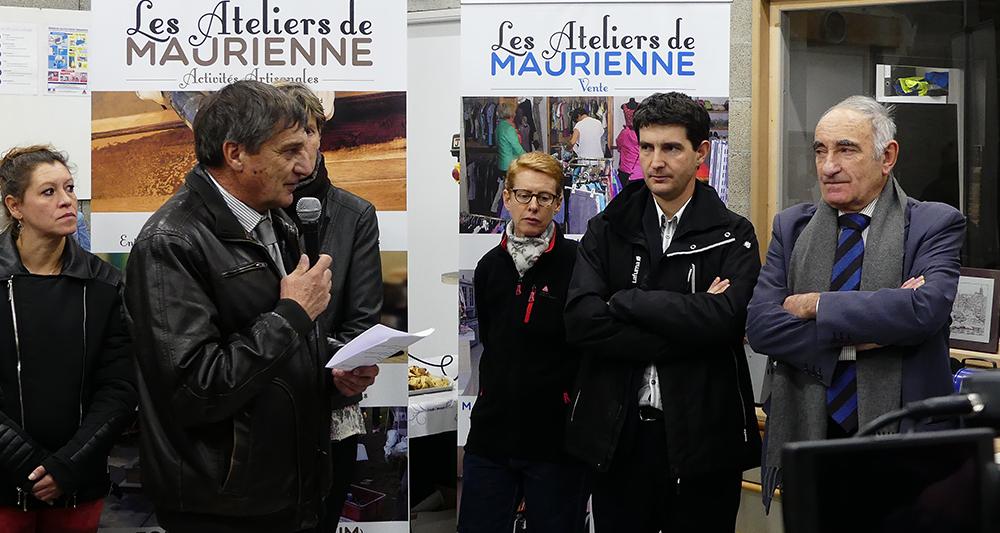 Inauguration Ateliers de Maurienne - 3CMA - Jean-Paul Margueron