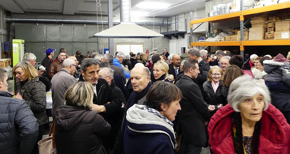 Inauguration Ateliers de Maurienne - 3CMA