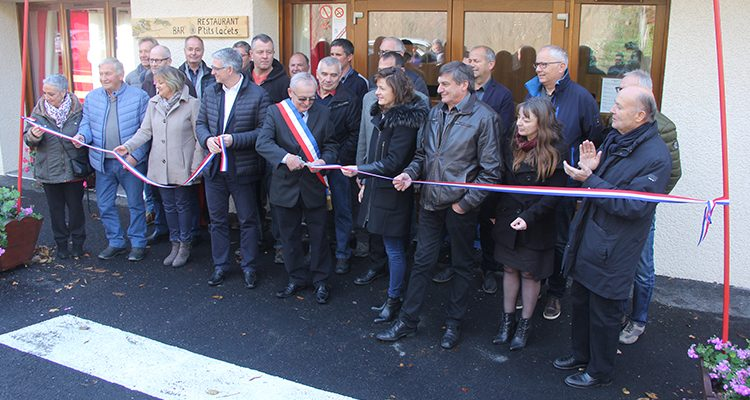 Inauguration O'Ptits Lacets Montvernier Emilie Bonnivard