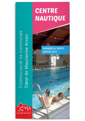 Centre Nautique - Horaires & Tarifs 2019