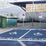 Places handicapées Accueil piscine Saint Jean de Maurienne