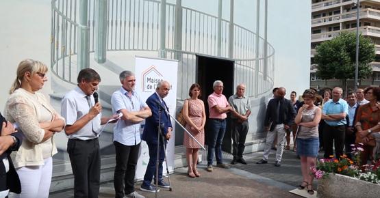 Inauguration Maison Habitat 3CMA