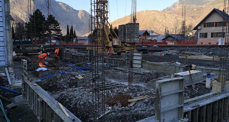 Construction maison intercommunalité 3CMA