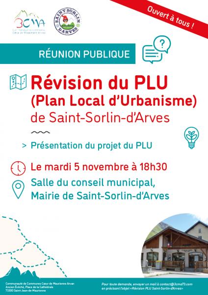Réunion publique PLU Saint Sorlin 2