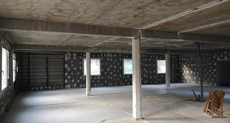 Rez-de-chaussée aile sud (anciens bureaux de Auvergne Rhône Alpes Entreprises)