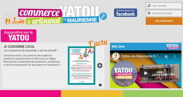 site internet Yatou Maurienne