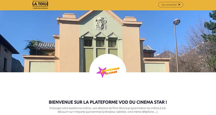Cinema star Saint-Jean-de-Maurienne