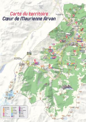 Carte territoire 3CMA