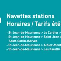 Navettes stations Saint Jean de Maurienne