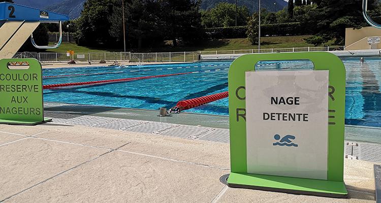 Circuit de nage centre nautique 3CMA